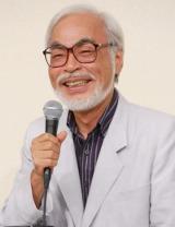 今月6日の会見で、公式に引退の辞を表明した宮崎駿監督 (C)ORICON NewS inc.