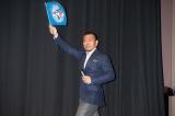 トロント国際映画祭で『R100』舞台あいさつに登壇した松本人志監督 (C)吉本興業株式会社