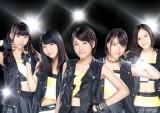 ベイビーレイズ(写真左から大矢梨華子、傳谷英里香、林愛夏、高見奈央、渡邊璃生)