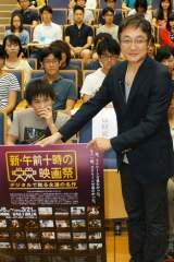 早稲田大学で行われた「学生のための20世紀名作映画講座」