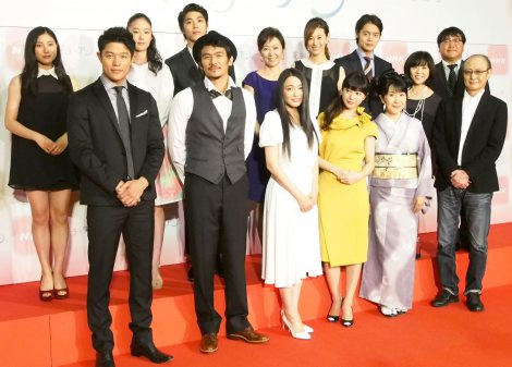 平成26年度前期連続テレビ小説『花子とアン』出演者発表記者