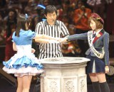 島崎遥香、じゃんけん大会連覇をかけて挑むも…(撮影:鈴木かずなり)