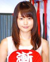 映画『劇場版SPEC〜結〜』公開記念イベントに出席した有村架純 (C)ORICON NewS inc.