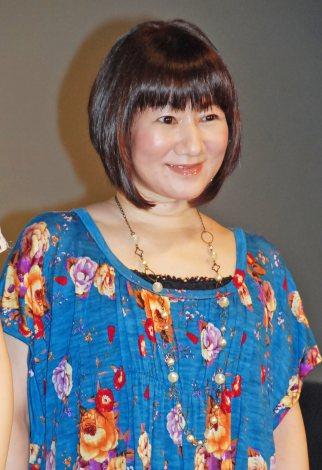 映画「怪盗グルーのミニオン危機一発」初日舞台あいさつに出席した矢島晶子 (C)ORICON NewS inc.