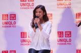 21日〜23日、東京・表参道で開催されたユニクロのファッションイベント『UNIQLO FASHION FES』に登場した滝沢眞規子
