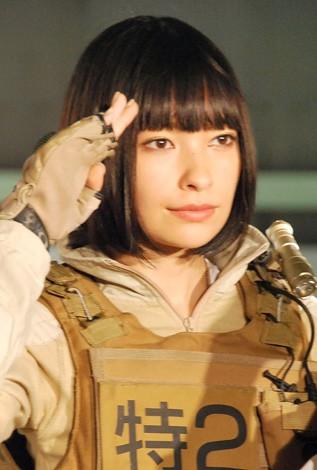 『THE NEXT GENERATION-PATLABAR-』製作発表会見に出席した太田莉菜 (C)ORICON NewS inc.