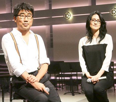 (左から)亀田誠治、アンジェラ・アキ (C)ORICON NewS inc.