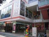 原宿・竹下通りの中央に位置する「CUTE CUBE HARAJUKU」。毎週末、雑誌とのコラボ企画など様々なイベントが催されている