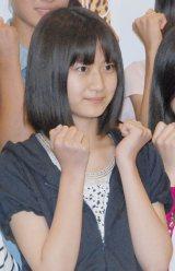 神門沙樹(ごうど さき)高3・17歳 目標:篠田麻里子 「どこまでも自分らしく頑張ります」