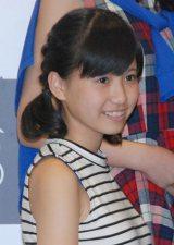 高寺沙菜(たかてら さな)中2・13歳 目標:大島優子 「全力笑顔で頑張ります」