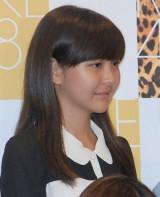 藤巻まりあ(ふじまき まりあ)中2・13歳 目標:柏木由紀 「とにかく一生懸命にがむしゃらに頑張りたいと思います」
