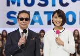『ミュージックステーション』タモリと竹内由恵アナウンサーの司会は今夜が最後!(C)テレビ朝日