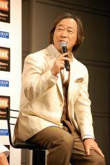 WOWOW連続ドラマW『LINK』(10月6日スタート)に出演する武田鉄矢 (C)ORICON NewS inc.