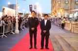 観客賞を受賞したスペイン『第61回サン・セバスチャン国際映画祭』では、9月21日に行われた正式上映に福山雅治、是枝裕和監督が参加した