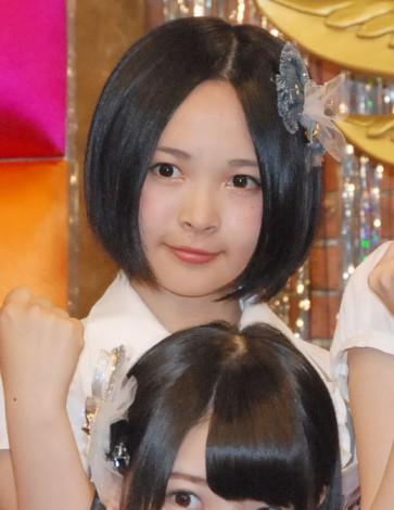 新番組『SKE48のエビフライデーナイト』の収録合間の取材に応じた加藤るみ (C)ORICON NewS inc.
