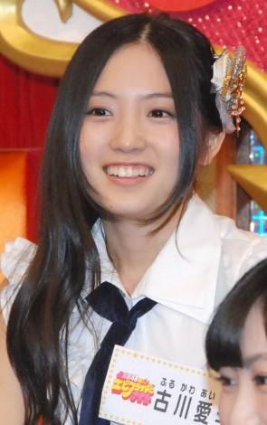 新番組『SKE48のエビフライデーナイト』の収録合間の取材に応じた古川愛李 (C)ORICON NewS inc.