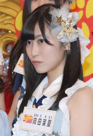 新番組『SKE48のエビフライデーナイト』の収録合間の取材に応じた向田茉夏 (C)ORICON NewS inc.