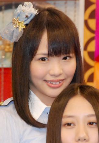 新番組『SKE48のエビフライデーナイト』の収録合間の取材に応じた松村香織 (C)ORICON NewS inc.
