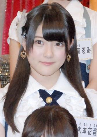 新番組『SKE48のエビフライデーナイト』の収録合間の取材に応じた木本花音 (C)ORICON NewS inc.