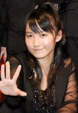 新アルバム『The Best!〜Updated モーニング娘。〜』発売記念ミニライブに出席した鞘師里保 (C)ORICON NewS inc.