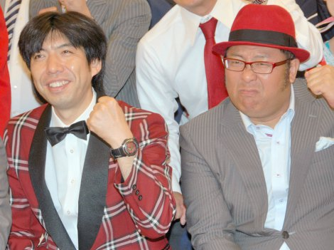 Wコロン(左から)ねづっち、木曽さんちゅう (C)ORICON NewS inc.