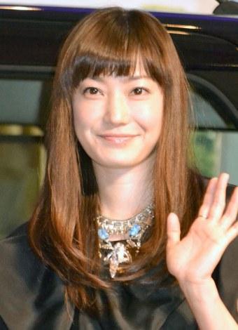 ダイハツ『新型タント』新CM記者発表会に出席した菅野美穂 (C)ORICON NewS inc.