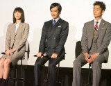 (左から)新垣結衣、堺雅人、岡田将生 (C)ORICON NewS inc.