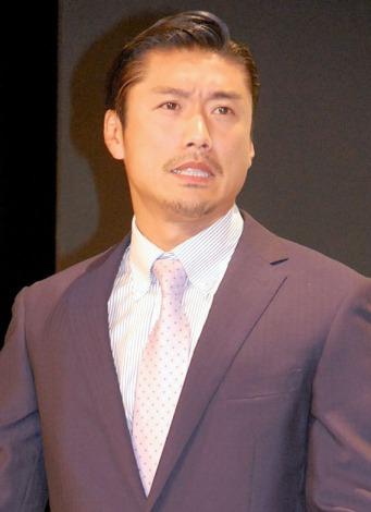 TBS系ドラマ『クロコーチ』制作発表会見に出席した金子賢 (C)ORICON NewS inc.