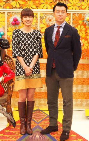 『ぶっちゃけ告白TV!カミングアウト』収録に参加した(左から)中村仁美アナウンサー、加藤浩次 (C)ORICON NewS inc.