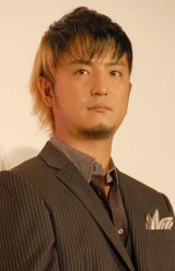 映画『くじけないで』の完成披露試写会に出席した上地雄輔 (C)ORICON NewS inc.