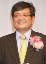 『第26回日本メガネベストドレッサー賞』表彰式に出席した森永卓郎 (C)ORICON NewS inc.