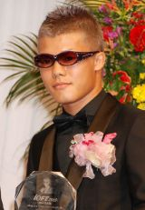 WBO世界バンタム級チャンピオン・亀田和毅=『第26回日本メガネベストドレッサー賞』表彰式 (C)ORICON NewS inc.