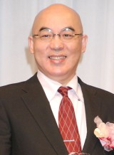 『第26回日本メガネベストドレッサー賞』表彰式に出席した百田尚樹氏 (C)ORICON NewS inc.
