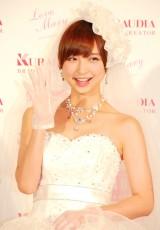 『Love Mary 4th コレクション記者発表会』に出席した篠田麻里子 (C)ORICON NewS inc.
