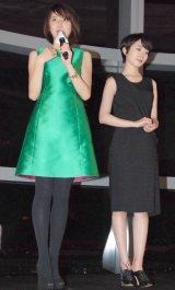 映画『潔く柔く』の大人女子限定トークに出席した(左から)長澤まさみ、波瑠 (C)ORICON NewS inc.