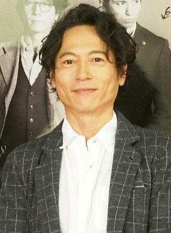 NHKドラマ『実験刑事トトリ2』の会見に出席した主演の三上博史 (C)ORICON NewS inc.