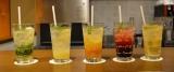 カフェ「カフェ・ド・オリビエ」のオススメは5つのフレーバーで展開する自家製炭酸ドリンク(税込950円)