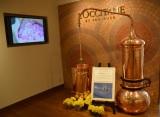 4階は日本初のロクシタンギャラリー「ミュゼ ロクシタン」 ブランド発祥のきっかけとなった蒸留器のレプリカも展示