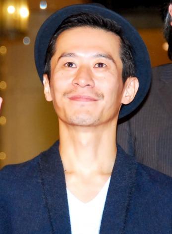映画『人類資金』カーペットアライバル&舞台あいさつに出席した三浦誠己 (C)ORICON NewS inc.