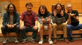 堀内孝雄が息子と初共演(左から)Ko-ta、堀内孝雄、矢沢透、Ko-hey、谷村新司
