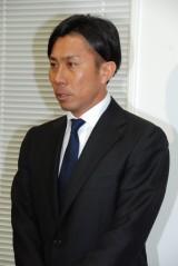 謝罪会見を行った元サッカー日本代表の前園真聖元選手 (C)ORICON NewS inc.