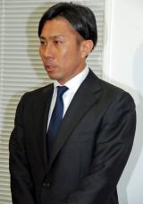 会見後、謝罪文で改めて謝意を示した前園真聖氏 (C)ORICON NewS inc.
