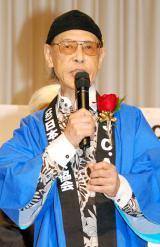 94歳で亡くなったやなせたかしさん(写真は昨年6月撮影) (C)ORICON NewS inc.
