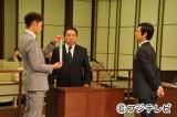 新シリーズ初となる古美門(右・堺雅人)vs羽生(左・岡田将生)の法廷での直接対決が見どころ
