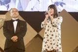 380日ぶりのNMB48復帰を発表する城恵理子(C)NMB48