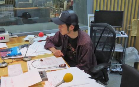 ラジオ終了後にインタビューに応じる宮藤官九郎 (C)ORICON NewS inc.