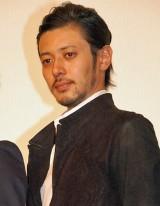 映画『人類資金』初日舞台あいさつを行ったオダギリジョー (C)ORICON NewS inc.