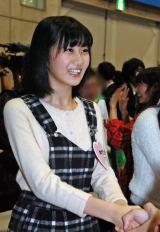 AKB48グループ ドラフト候補生が指名前に握手会デビュー(写真は神門沙樹さん) (C)ORICON NewS inc.