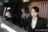 【1】ANAの訓練センター内にあるシミュレーターを使って撮影された=『ミス・パイロット』第1話より