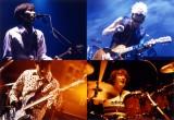 10年前に完売したライブDVDを復刻し12月18日に再発売するスピッツ(上段左から)草野マサムネ(Vo)、三輪テツヤ(G)(下段左から)田村明浩(B)、崎山龍男(Dr)